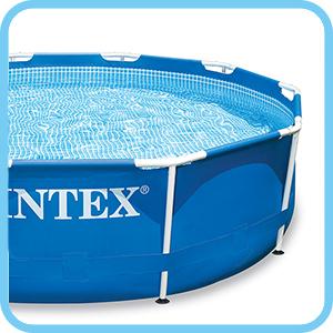 Piscine fuori terra intex metal frame rotonde piscina for Piscine fuori terra intex prezzi