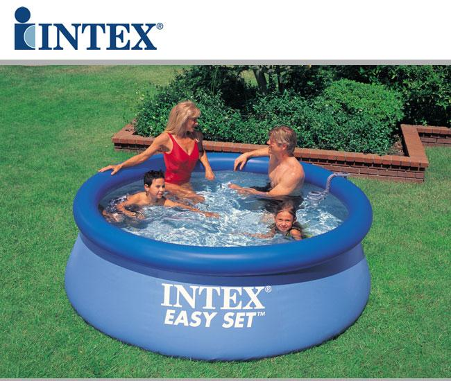 Piscine fuori terra easy set by intex piscina fuori for Prezzi piscine intex