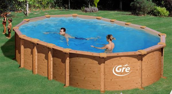 Piscine fuori terra gre effetto legno amazonia piscina - Gonfiabili piscina amazon ...