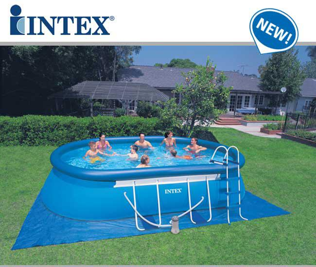 Piscine fuori terra frame ellipse ovali by intex piscina for Prezzi piscine intex
