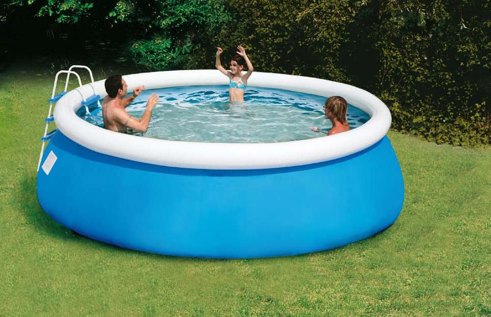 Piscina fuori terra sirio by new plast piscina fuori for Piscine strette e lunghe