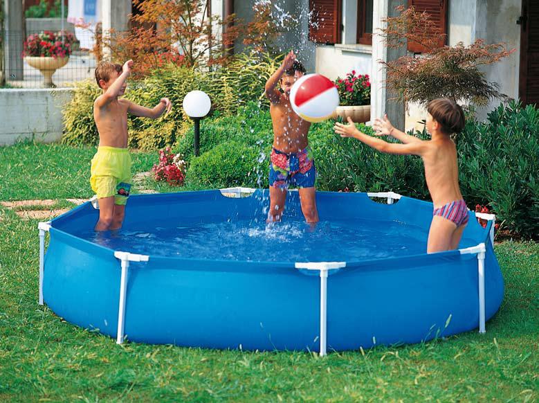 Piscine fuori terra garden by new plast piscina fuori for Prezzi piscine intex
