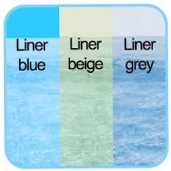 Liner spessore 75/100 trattato anti raggi UV