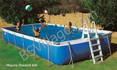 Piscine fuori terra majorca by technypools piscina fuori for Piscina fuori terra normativa