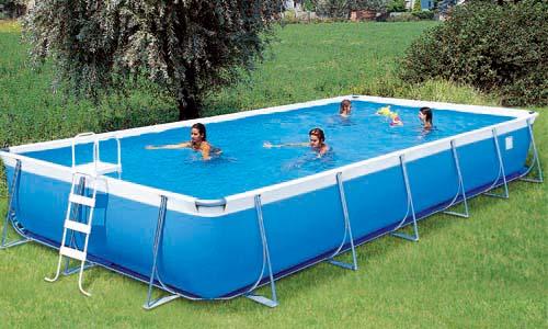 Piscine fuori terra supreme by technypools piscina fuori for Piscina fuori terra 10x5 prezzi