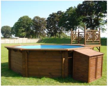Piscine fuori terra in legno odyssea piscina fuori terra - Piscina onda ...