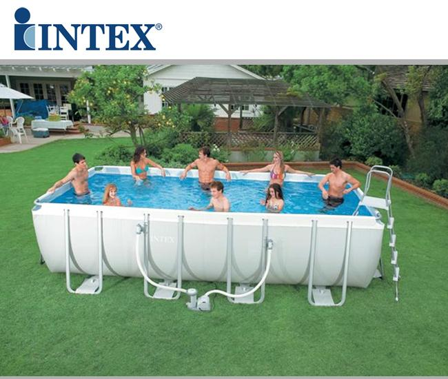 Piscine fuori terra intex ultra frame rettangolari - Accessori piscine intex ...