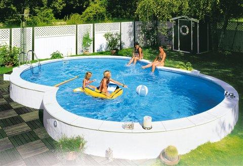 Piscine fuori terra riva by zodiac piscina fuori terra for Piscina fuori terra 10x5 prezzi