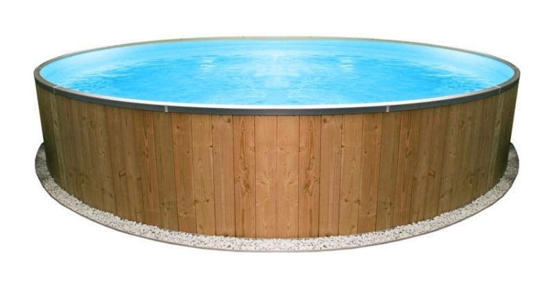 Rivestimento In Legno Per Piscine Fuori Terra : Click piscina rivestimento legno 4 piscina fuori terra guida all