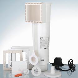 Gruppo filtrante composto da Skimmer motorizzato con filtro a cartuccia