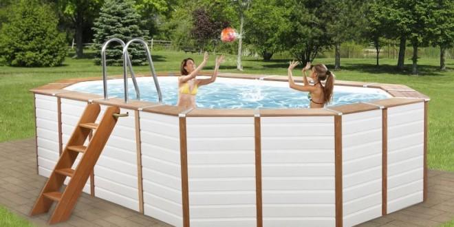 Piscine fuori terra rivestite in legno technypools evolution piscina fuori terra guida all - Piscine fuori terra rivestite ...