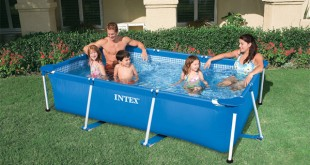 piscina metal frame intex
