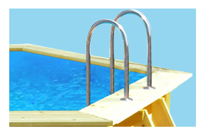 Piscine fuori terra in legno odyssea piscina fuori terra guida all 39 acquisto a prezzi scontati - Scaletta per piscina fuori terra ...