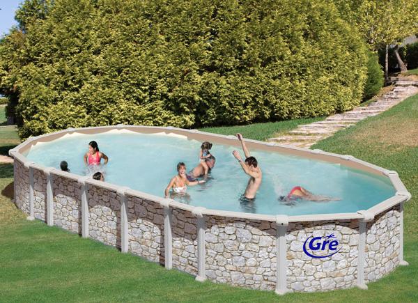 Piscine fuori terra mykonos by gre piscina fuori terra guida all 39 acquisto a prezzi scontati - Piscina sotto terra ...