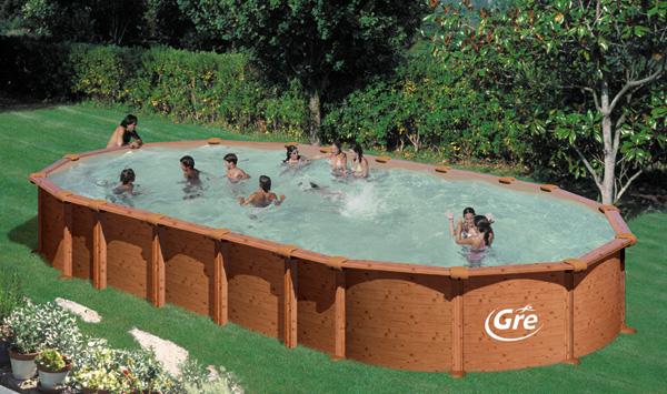 Piscine fuori terra amazonia by gre piscina fuori terra for Piscine fuori terra pvc
