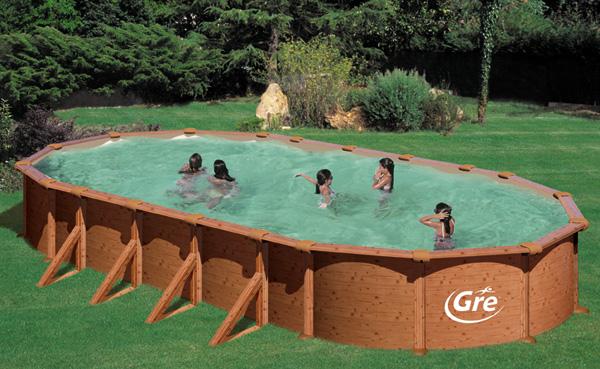 Piscine fuori terra mauritius by gre piscina fuori terra for Liner piscinas gre