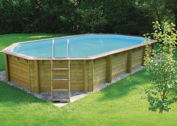 Piscine fuori terra in legno wood piscina fuori terra for Piscina fuori terra 10x5 prezzi