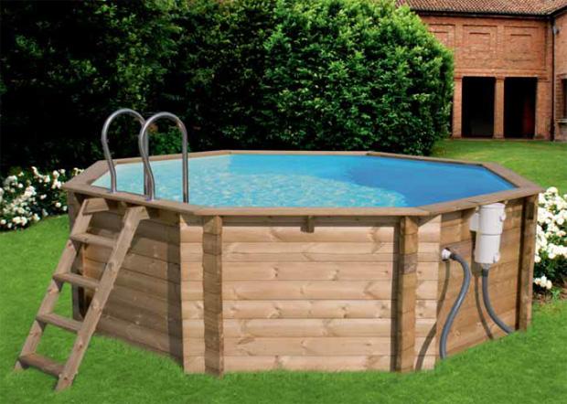 Piscine fuori terra in legno wood piscina fuori terra for Piscine fuori terra intex prezzi