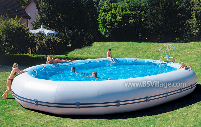 Scopri la piscina fuori terra ovline by zodiac - Piscina fuori terra ...