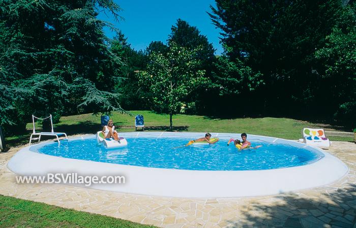 Scopri la piscina fuori terra ovline by zodiac for Zodiac piscinas