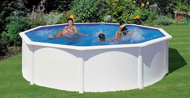 Piscine fuori terra in pvc caribe by newplast for Italica piscinas