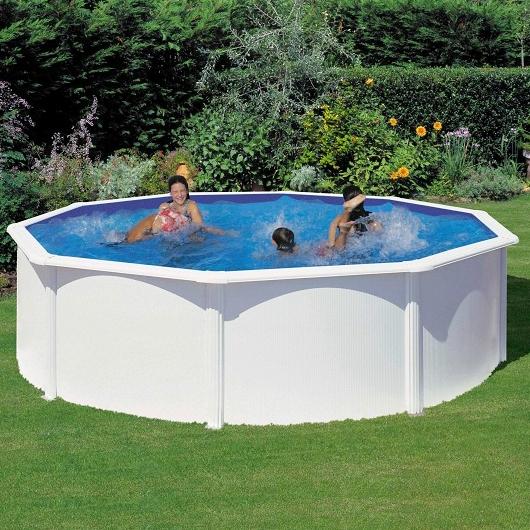 piscine fuori terra in pvc caribe by newplast