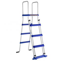 Scaletta di sicurezza con piattaforma 134 cm