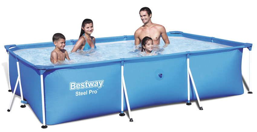 Piscine fuori terra bestway splash frame piscina fuori for Piscine portante