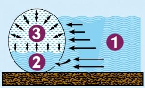 Equilibrio aria-acqua in piscina fuori terra Zodiac
