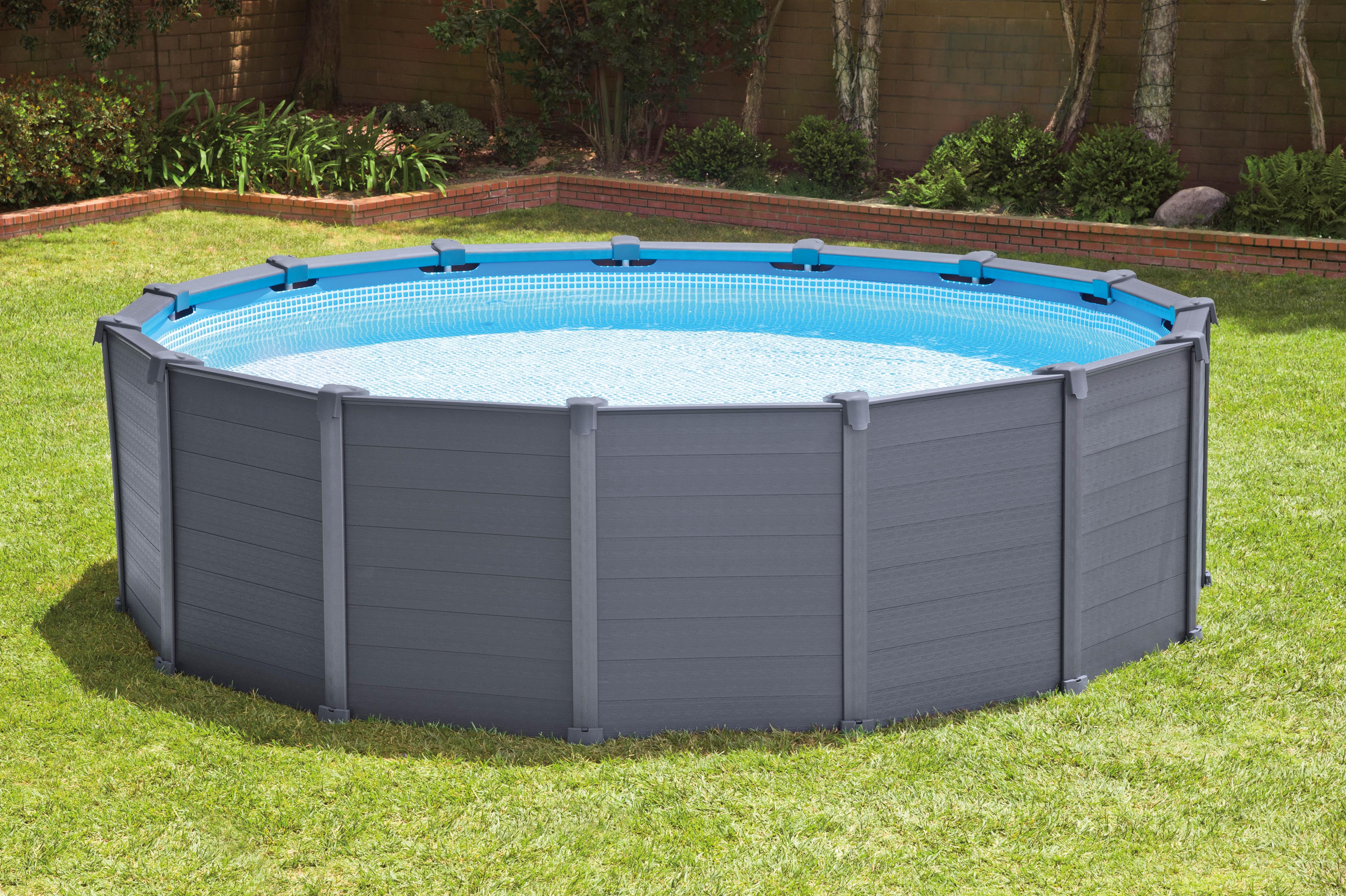 Piscina fuori terra intex graphite piscina fuori terra for Piscine fuori terra intex prezzi