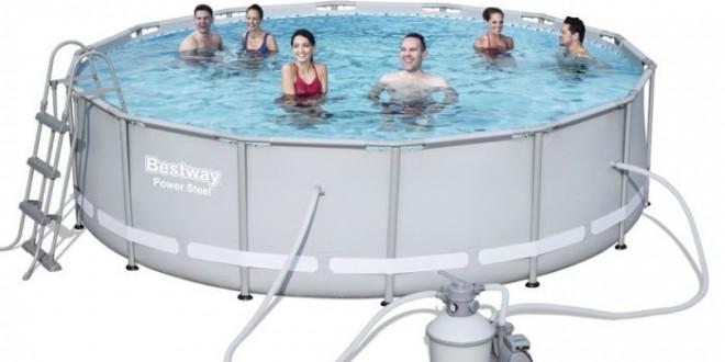 Piscine fuori terra bestway steel pro frame piscina for Piscine bestway steel pro