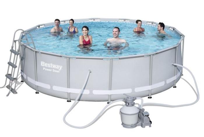 Piscine fuori terra bestway steel pro frame piscina for Accessori piscine fuori terra bestway
