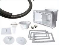 Kit di collegamento impianto filtrazione-piscina da 6, 9 o 12 m³/h