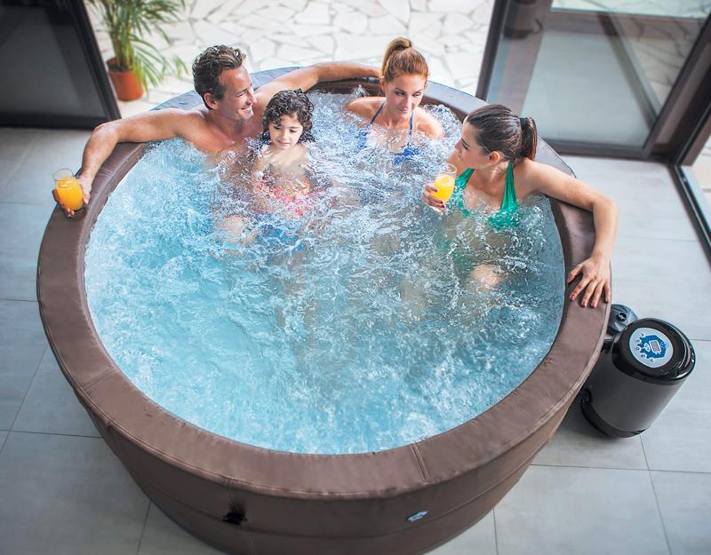 Vasca spa idromassaggio gonfiabile vita premium piscina for Piscina fuori terra 4x8 prezzo