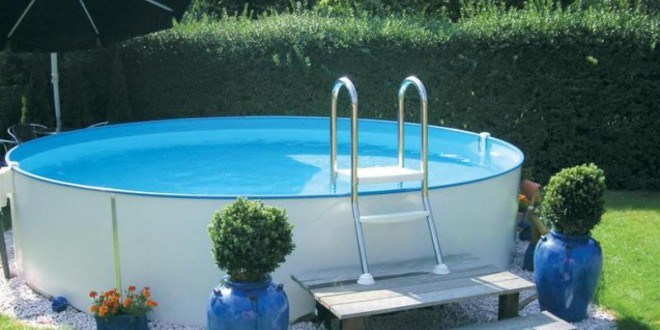 Piscine fuori terra clio e isabella piscina fuori terra - Piscina in lamiera ...