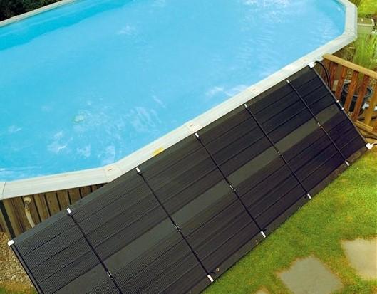 Sistemi di riscaldamento solari per piscine fuori terra - Pannello solare per piscina ...